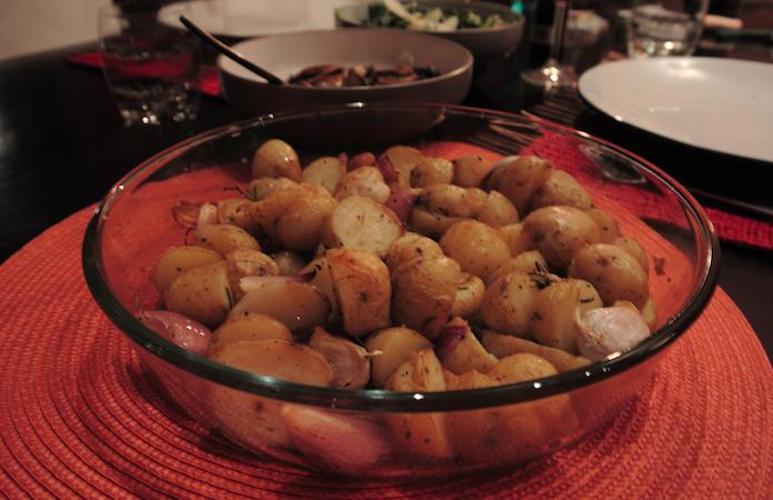 Rozemarijnaardappeltjes uit de oven