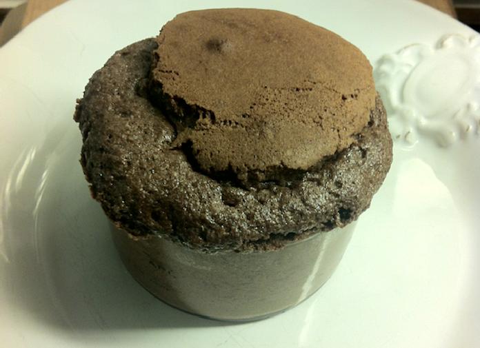 De zus van Lot Kookt: Nutella souffle's