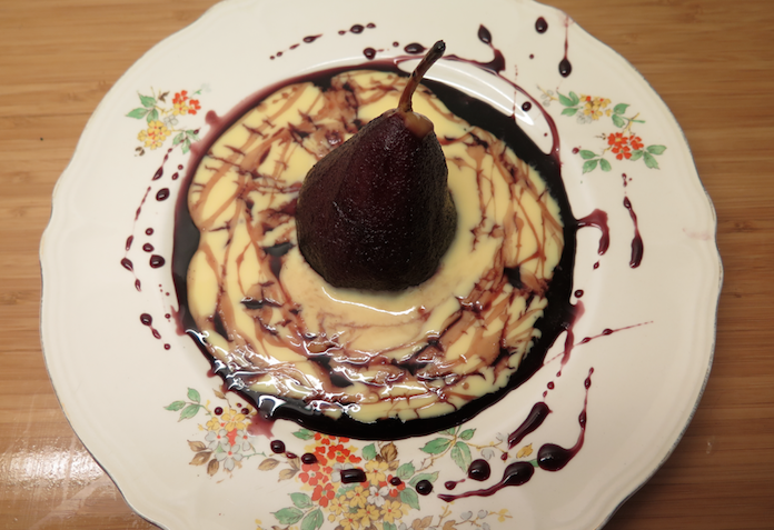 dessert peertjes met siroop